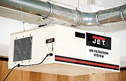Filtry vzduchu JET