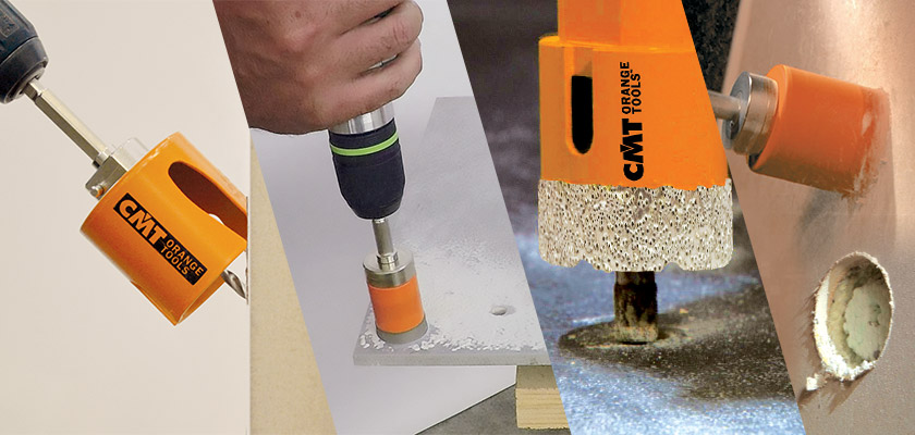 CMT Holesaws for professional