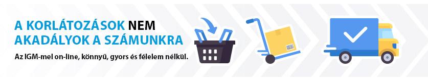Biztonságos on-line vásárlás az igm e-üzleten